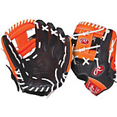 "Rawlings GG Gamer XLE Neon Series Orange 11.75"" Baseball Glove"