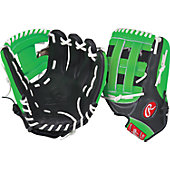 "Rawlings GG Gamer XLE Neon Series Green 12.75"" Baseball Glove"
