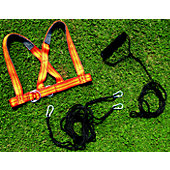 Fisher Pull-Bag Harness with Metal Clips
