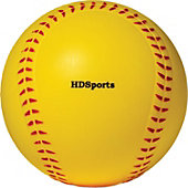 HD SPORTS MACHINE PITCH 11IN FP BALL W/RED SEAM