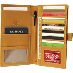 Rawlings Heart of the Hide Leather Travel Organizer