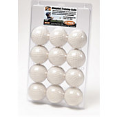 Hit Zone Dimpled Training Baseballs (12-Pack)