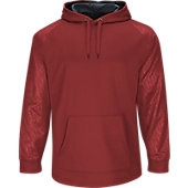 Majestic Men's Home Plate Hooded Tech Fleece Pullover