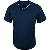 Majestic Adult Premier Patriot V-Neck Baseball Jersey
