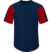 Majestic Youth Premier Colorblocked Crewneck Baseball Jersey