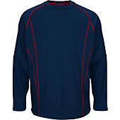 Majestic Men's Fleece Practice Pullover