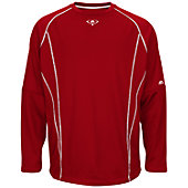 Majestic Men's On-Field Fleece Practice Pullover