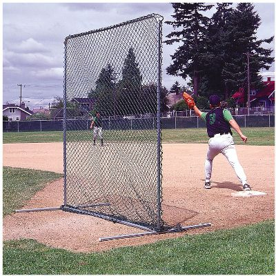 Jugs 7' x 7' Infielder Protective Screen   Softball Cages