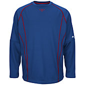 Majestic Youth On-Field Fleece Practice Pullover