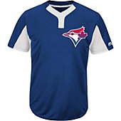 Majestic Youth Premier Eagle Cool Base 2-Button MLB Jersey