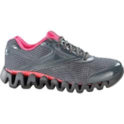 Reebok Women's Zig Fuel Gravel/Red Running Shoes