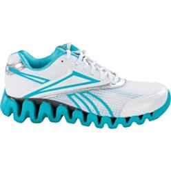 Reebok Women's Zig Fuel White/Blue Toning Shoes
