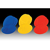 Kwik Goal Flat Oval Markers (Set of 12)