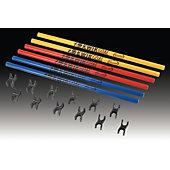 Kwik Goal 30-Inch Coaching Stick Hurdles