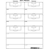Kwik Goal Soccer Set Pieces Kwik Chart