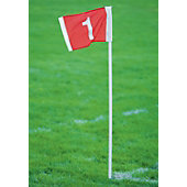 Kwik Goal Field Number Corner Flags (Set of 4)