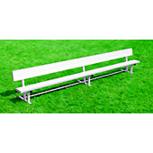 Kwik Goal 15-Foot Bench with Back