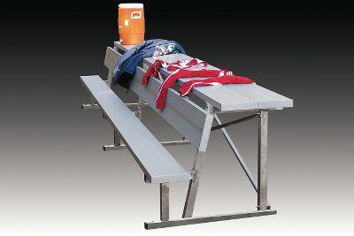 kwik-goal-15-foot-bench-with-equipment-shelf