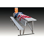 Kwik Goal 15-Foot Bench with Equipment Shelf
