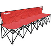 Kwik Goal 6-Seat Kwik Bench (Red)