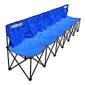 Kwik Goal 6-Seat Kwik Bench (Blue)