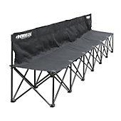 Kwik Goal 6-Seat Kwik Bench (Black)