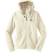 Port Authority Women's Textured Hooded Soft Shell Jacket