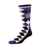 Twin City Argyle Custom Logo Crew Socks (Dozen)