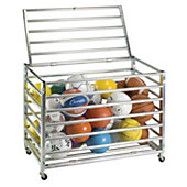 Champion Sports Lockable Ball Storage Locker