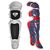 "All-Star Youth USA System 7 Catcher's Leg Guards (13"")"