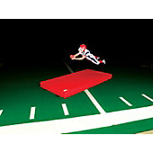 "Fisher LM810 Football Landing Mat, 5' W x 10' L x 8"" H"
