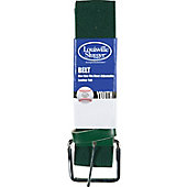 Louisville Slugger Boy's Elastic Belt with Leather Tab