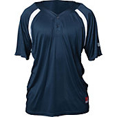 Louisville Slugger Men's 2-Button Henley Game Baseball Jerse