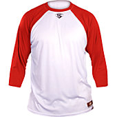 Louisville Slugger Men's Loose 3/4 Sleeve Shirt
