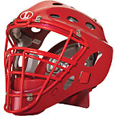 Louisville Slugger Intermediate Scarlet Catcher's Helmet