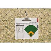 Louisville Slugger Deluxe Baseball Dugout Clipboard