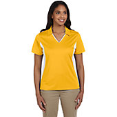 Broder Bros Women's Side Blocked Micro-Pique Polo