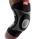 McDavid Four-Way Elastic Knee Sleeve w/ Gel Buttress and Sta