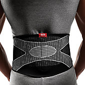 McDavid Four-Way Elastic Back Support With Gel Buttress
