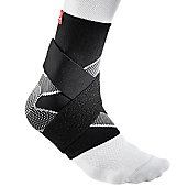 McDavid Four-Way Elastic Ankle Sleeve with Figure-8 Straps
