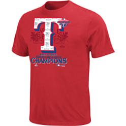 Majestic MLB 2011 Official ALCS Locker Room T-Shirt