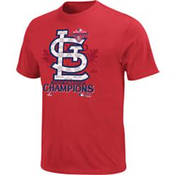 Majestic MLB 2011 Official NLCS Locker Room T-Shirt