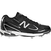 NB 11S 1103 D SYN-LEA LO METAL CLEATS BLK
