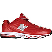 New Balance Men's 696 Red D Wide Coaches Shoes