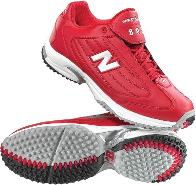 Mens Extra Wide Shoes on New Balance Mens Turf 4e Wide Red Baseball Shoe Size 7 5 Turf Coaches