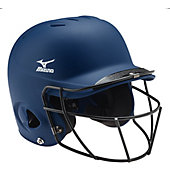 Mizuno MBH252 MVP Batting Helmet with Fastpitch Facemask