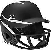 Mizuno MBH252 MVP Batting Helmet with Polycarbonate Facemask