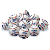 Rawlings Assorted MLB Practice Baseballs (Dozen)