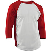 Rawlings Adult Cool-Flo 3/4 Sleeve Baseball Jersey