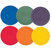 "Champion Sports 9"" Poly Spot Markers (Set Of 6)"